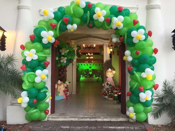 Decoração Simples Com Balões-guirlanda