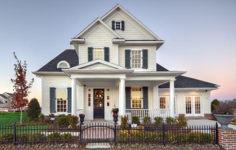 Casa linda luxuosa clássica