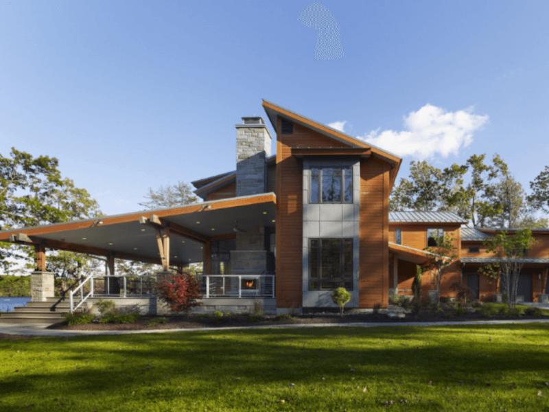 Casa de fazenda simples r sticas modernas e antigas for Casa moderna rustica
