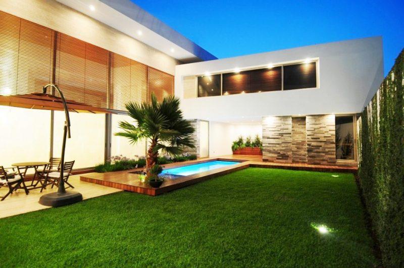 Quintal de casa linda