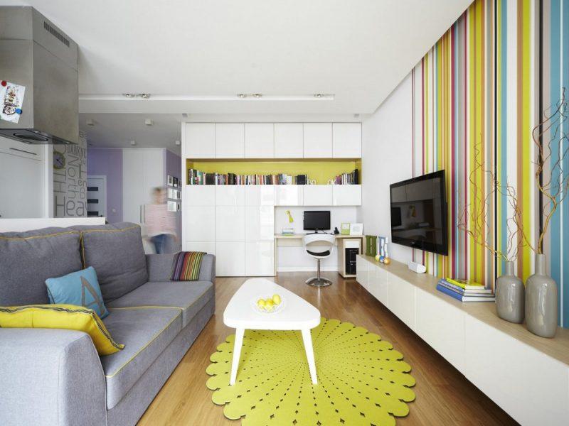 decorar sala pequena sem gastar muito