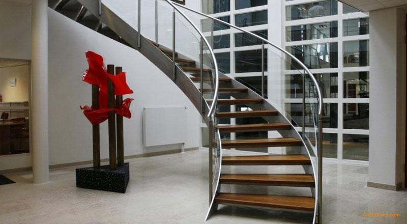 Escada Caracol de Ferro Vazada