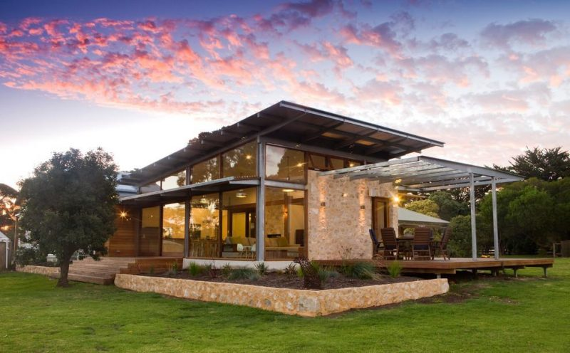 Projeto de casa de campo moderna