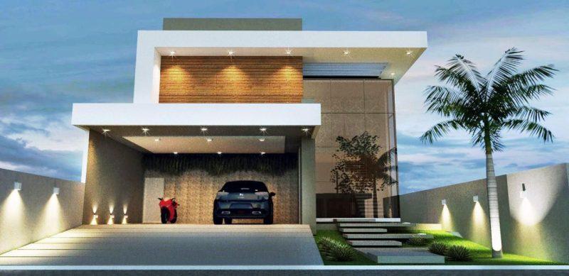 Projeto de casa sem telhado