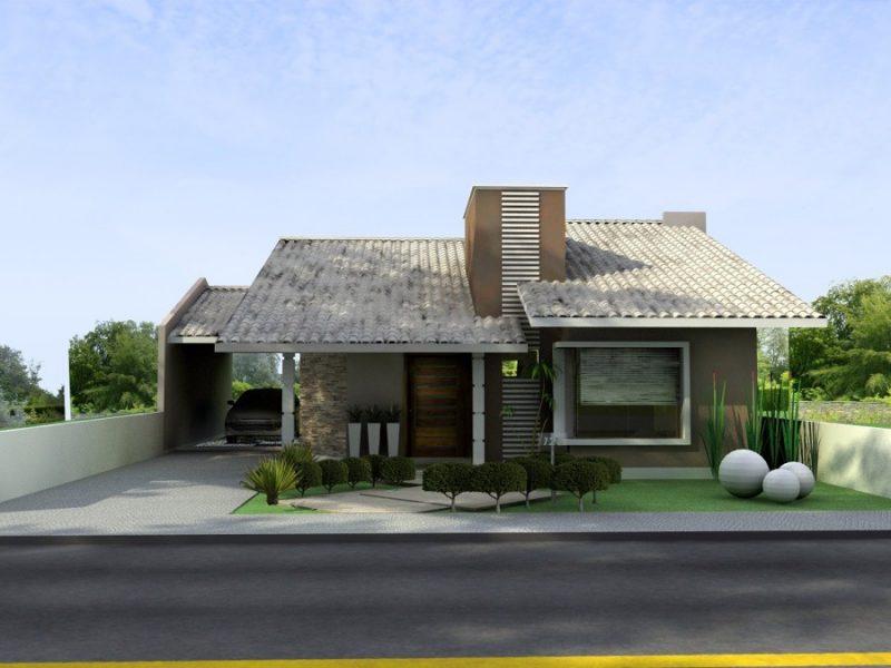 Projetos de casas plantas gr tis pequenas modernas for Casa moderna gratis