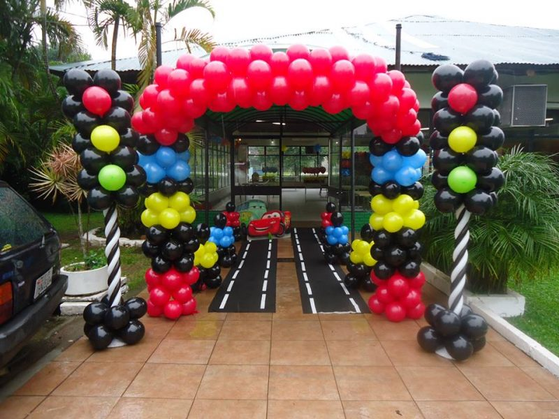 Decoraç u00e3o Simples Com Balões Como Fazer Passo a Passo (AQUI!!) # Decoração Com Balões Como Fazer Passo A Passo