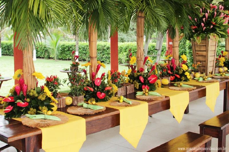 Festa Tropical Decoração Lembrancinhas Cardápio 50 Ideias