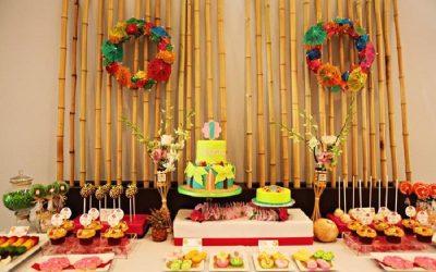Decoração de Festa Tropical