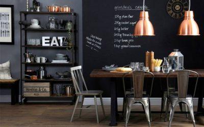 Sala de Jantar com parede Lousa