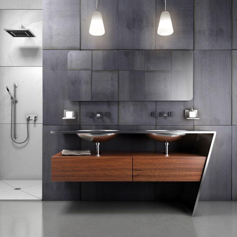 Armário moderno para banheiro