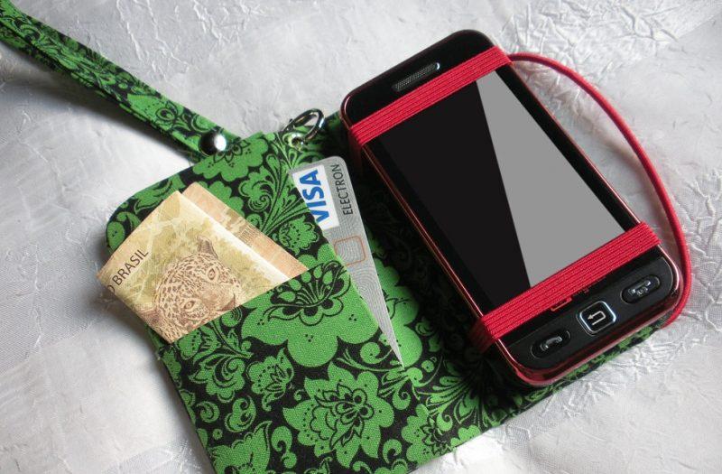 capa de celular de caixa de leite
