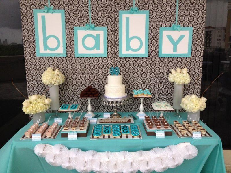 decoração do Mesversário de Bebê