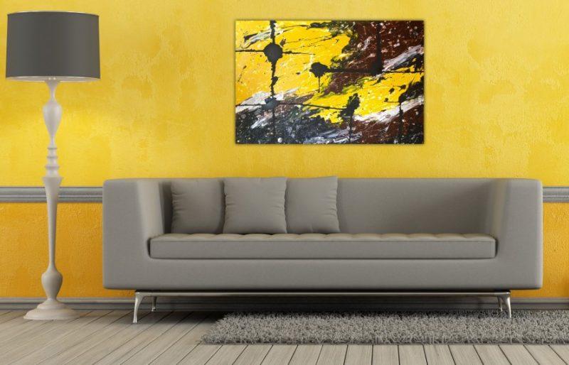 Efeito Revigorante da Cor Amarela na decoração de ambientes