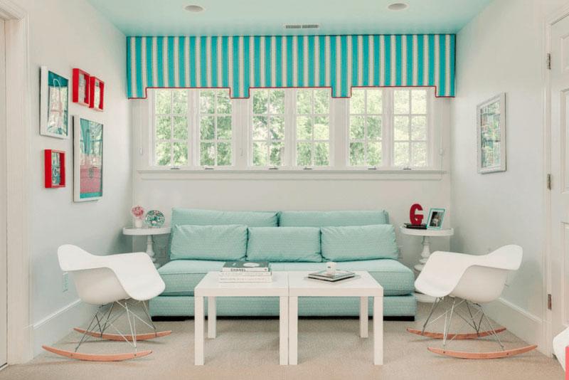 Sala Azul Turquesa