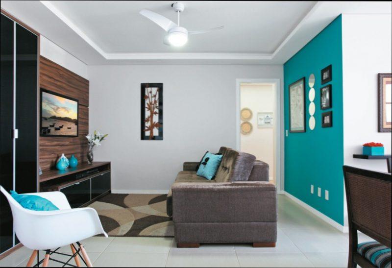 azul turquesa tiffany na decora o quarto sala