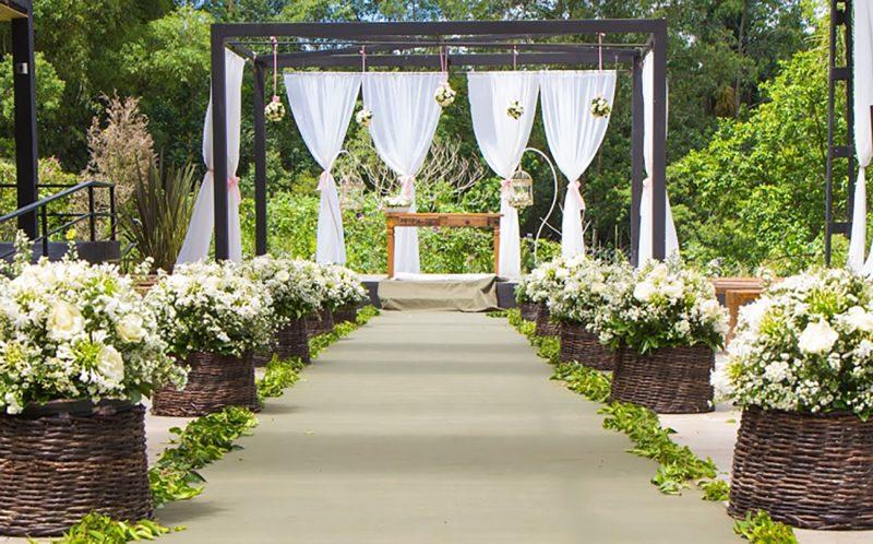 decoração de casamento Preço flores