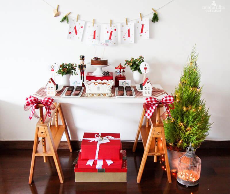 DECORA u00c7ÃO DE NATAL 2019 u2192 Simples e Baratas (+ de 75 Ideias) -> Decoração De Natal Simples Escola