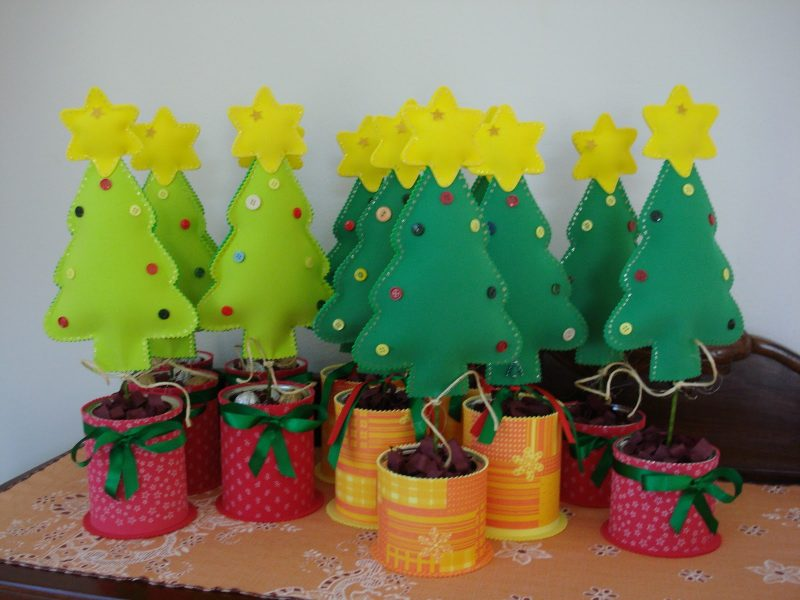 árvores de natal de EVA Decorativas