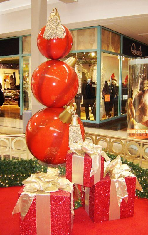 decoração de natal para loja