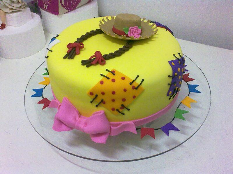 bolo festa infantil caipira