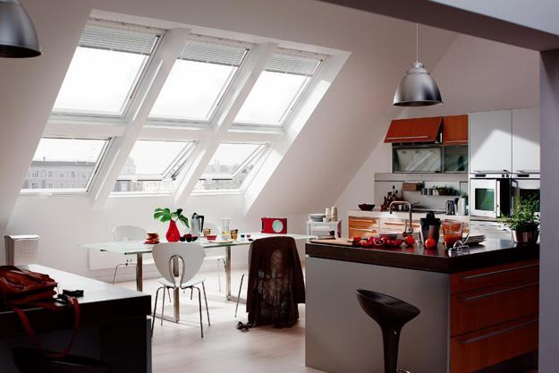claraboia na cozinha