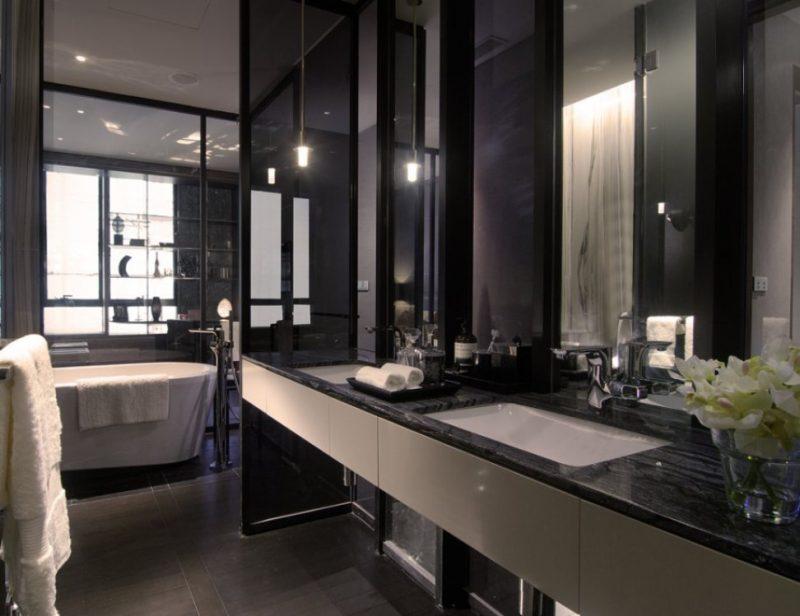Limpar Banheiro Preto : Como limpar ceramica preta de banheiro pastilha