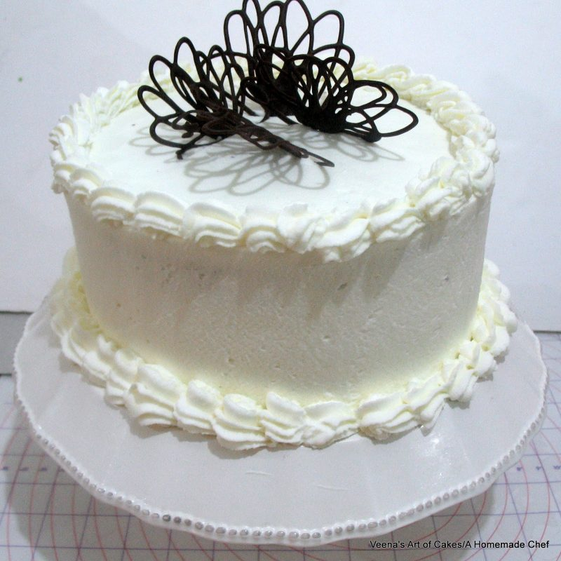 Bolos decorados simples com chantili com pasta - Decoration gateau avec creme chantilly ...