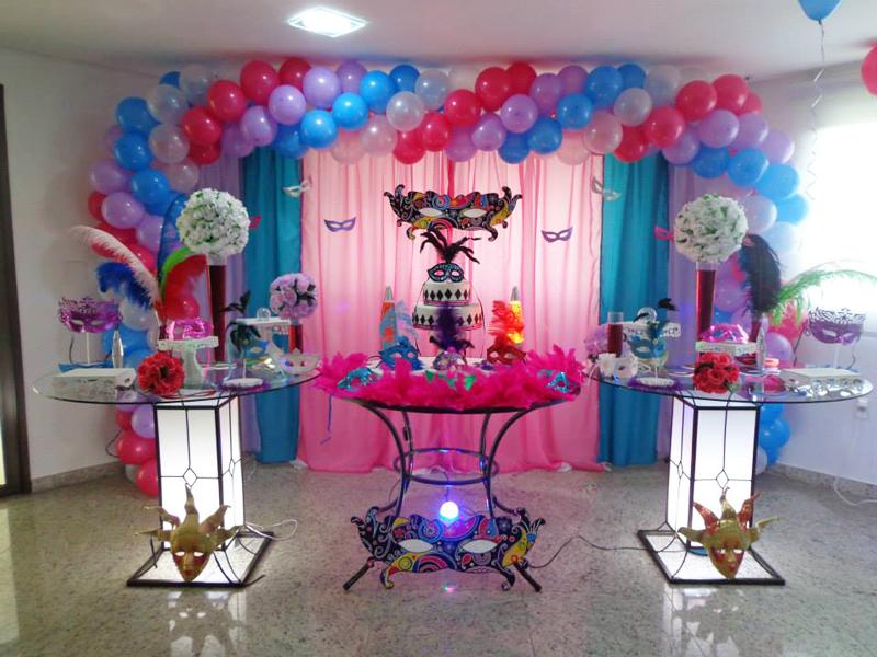 Decoração de Festa a Fantasia