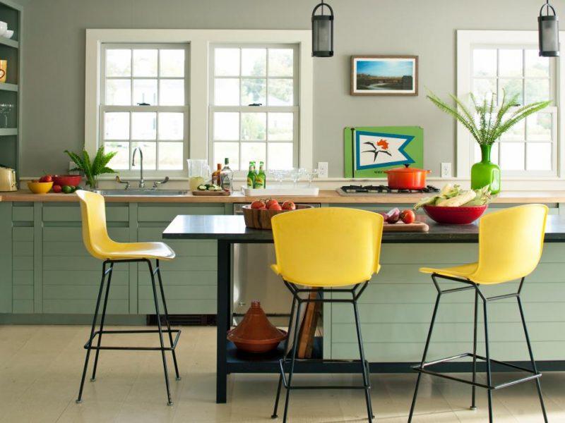 cozinha moveis coloridos