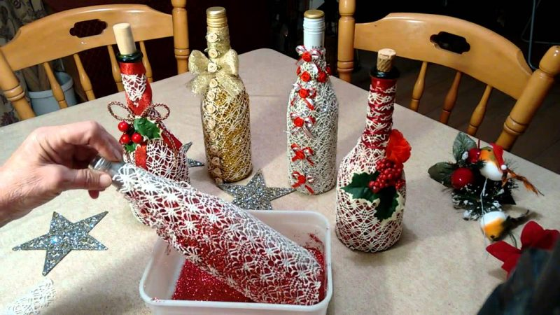 garrafas decoras