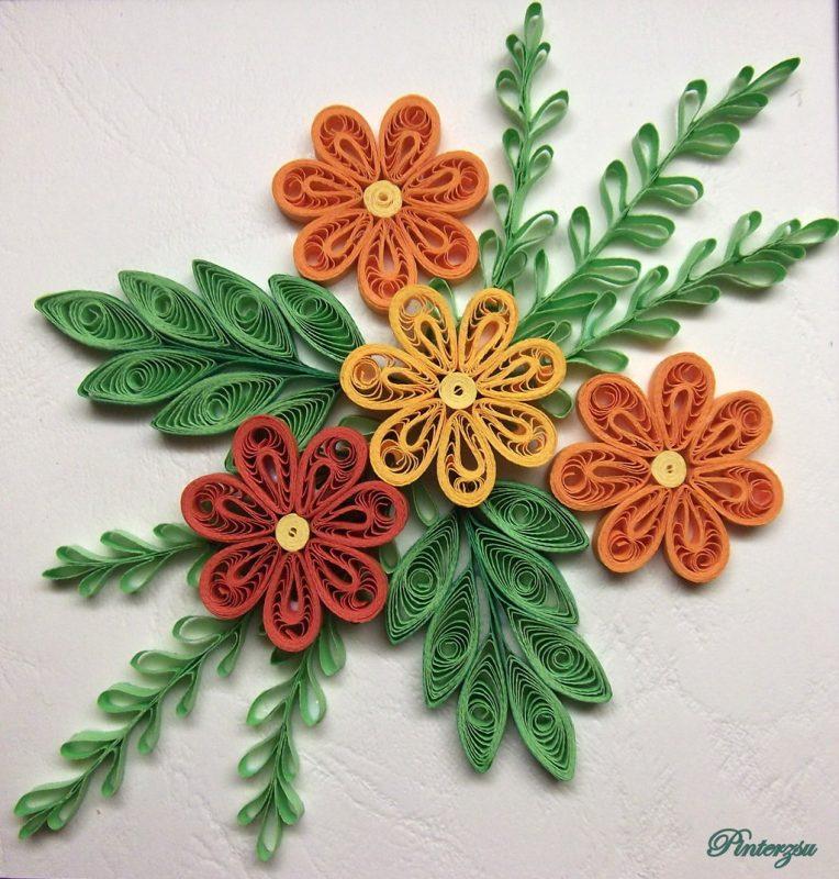 flor de quilling