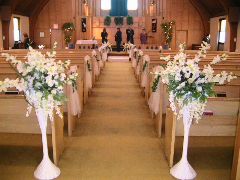 Decoraç u00e3o de Igreja para Casamento u2192 Dicas, Arranjos de Flores e MAIS! # Fotos Decoração De Igreja Para Casamento Simples