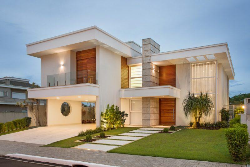 Entradas de casas moderna simples com pedras veja mais Fachadas de entradas de casas modernas