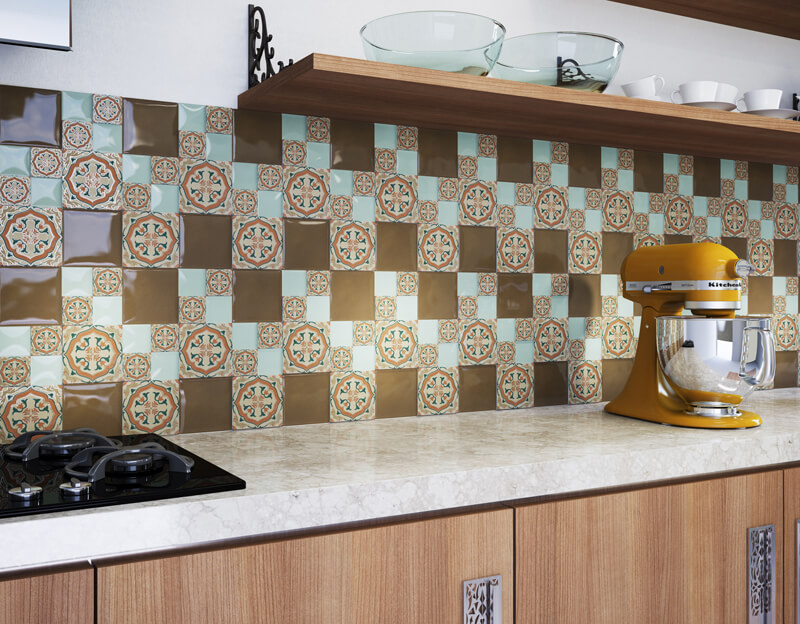 Azulejo Português na Cozinha