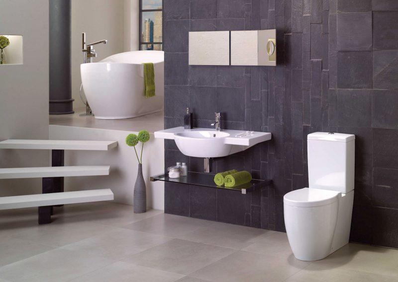 banheiros modernos