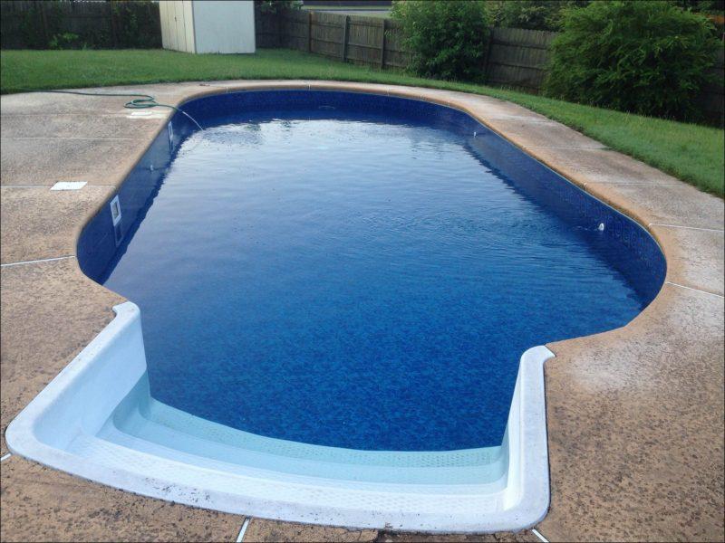 Modelos de piscinas vinil