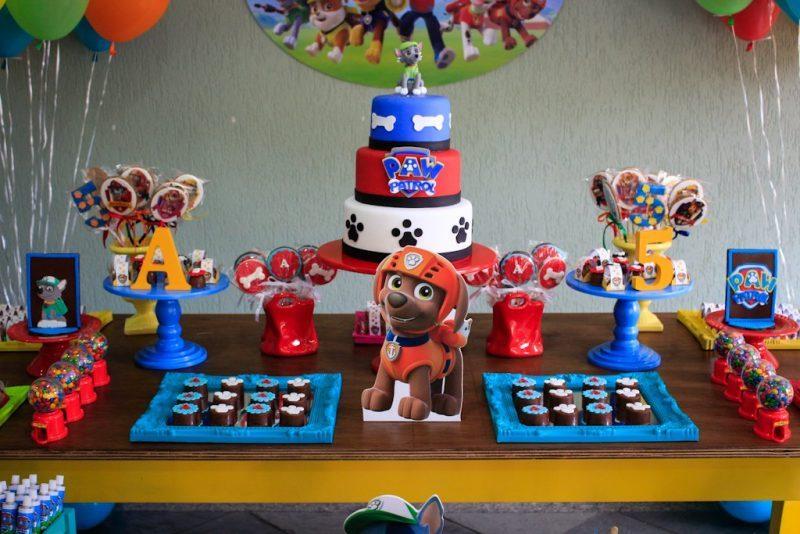 Decoração de Festa Patrulha Canina