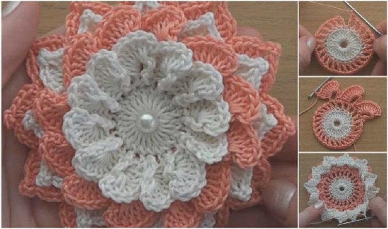 Flores De Crochê Como Fazer Passo A Passo Onde Usar