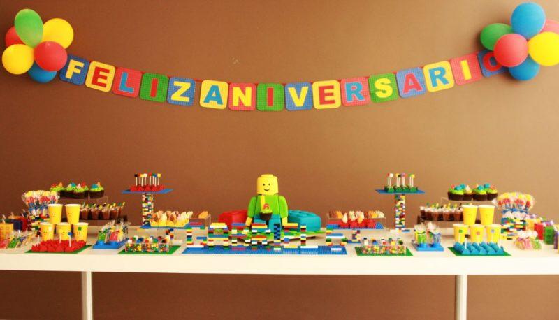Decoraç u00e3o de Festa Infantil u2192 Simples, Com Balões, de Menina e MAIS!