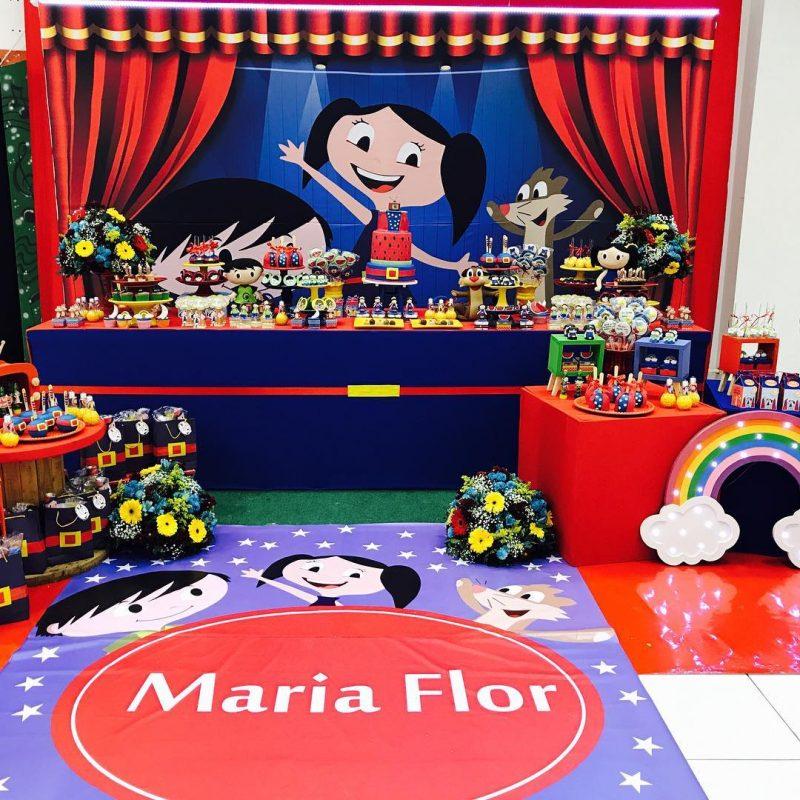 decoração de aniversário infantil Show da Luna