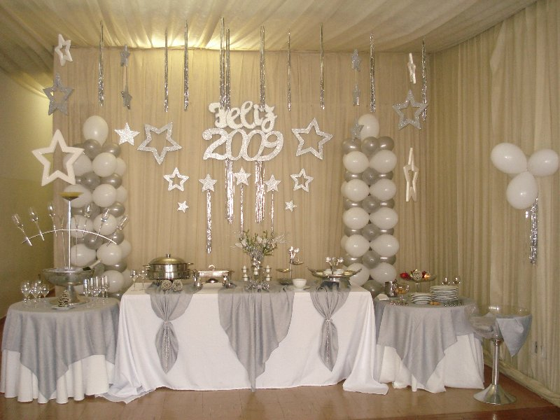Decoraç u00e3o de Ano Novo 2019 u2192 Ideias Simples e Baratas Com  -> Decoração De Ano Novo Simples E Barata