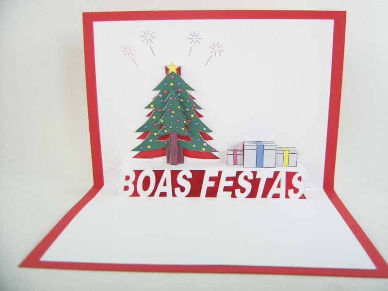Cartão de Natal e Ano Novo