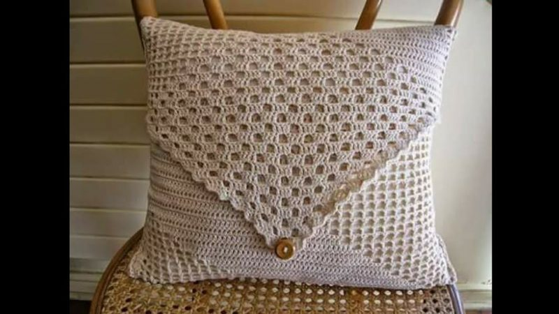 Como Fazer Almofadas de Crochê Passo a Passo