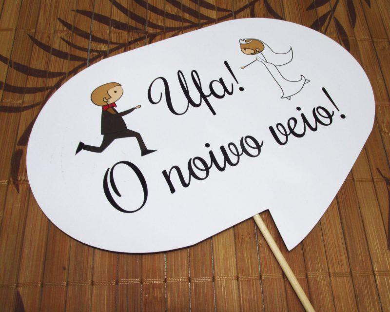 Plaquinhas Divertidas Casamento