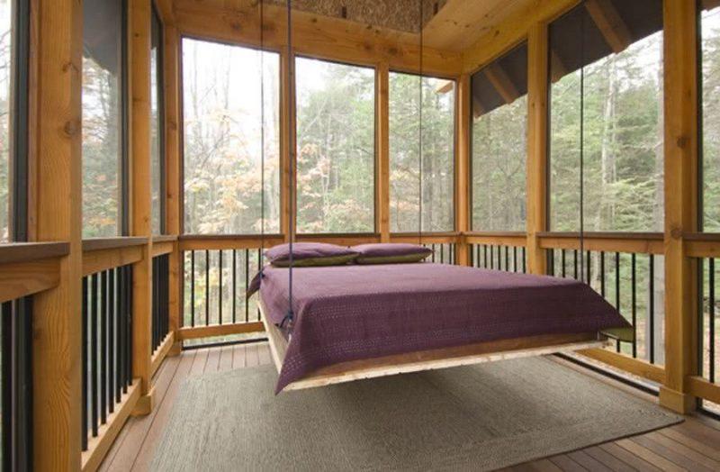 cama suspensa casal