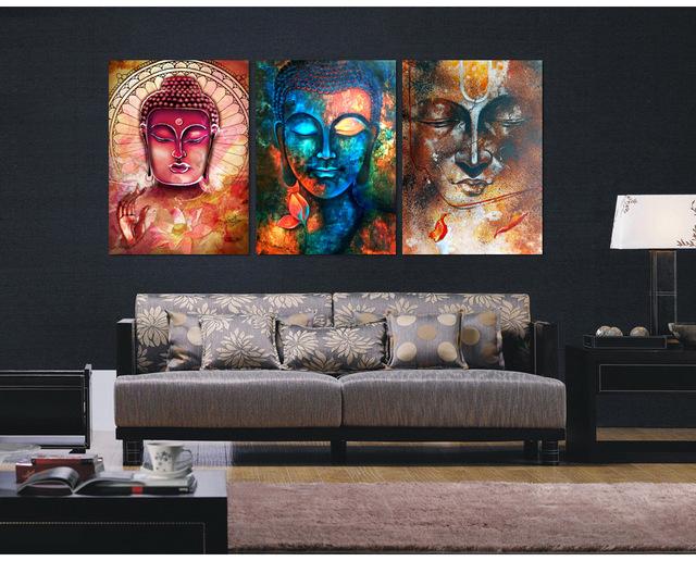 decoração com quadros sala