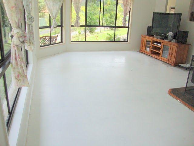 Piso de Cimento Queimado Branco