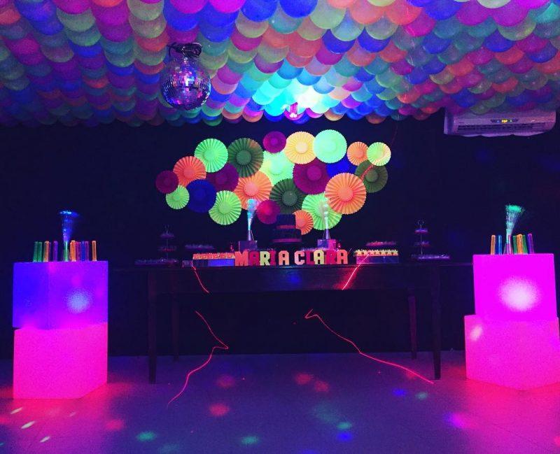 Festa Neon 97 Ideias De Decoração Objetos E Como Fazer