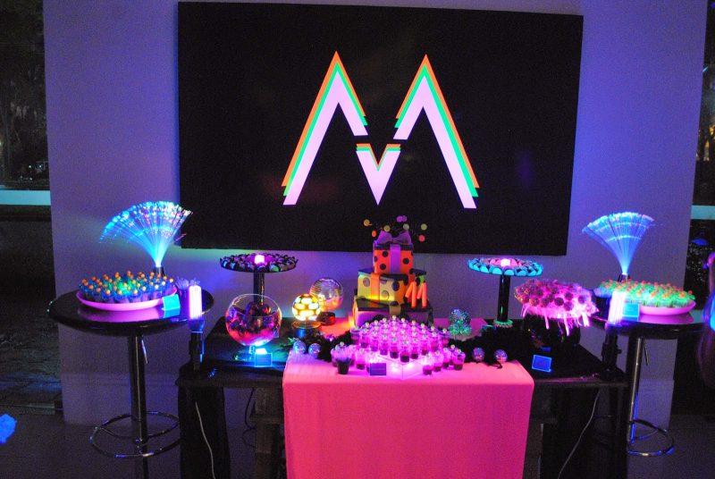 Festa Neon 97 Ideias De Decoração Objetos E Como Fazer Aqui