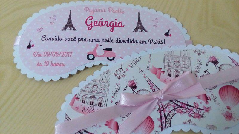 Convite Festa do Pijama